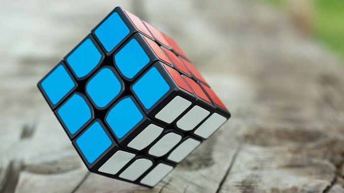 ルービックキューブの揃え方の流れ