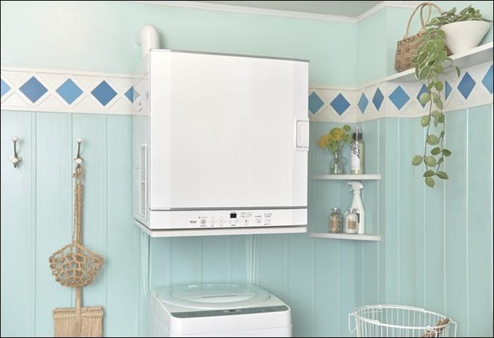 洗濯機と乾燥機が独立型