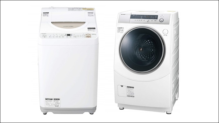 洗濯機と乾燥機が一体型