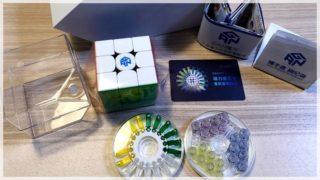 【GAN356 X Numerical IPG レビュー】競技用ルービックキューブ
