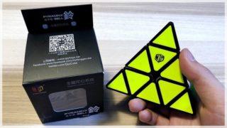 【X-Man Design Magnetic Pyraminx Bell レビュー】磁石内蔵ピラミンクス