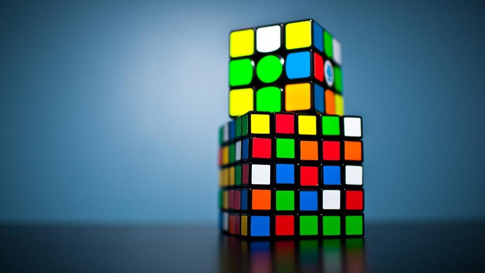 ルービックキューブのパズル