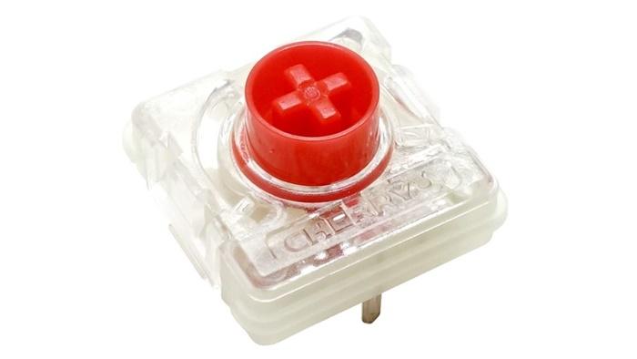 メカニカルキーボードのMX LowProfile赤軸