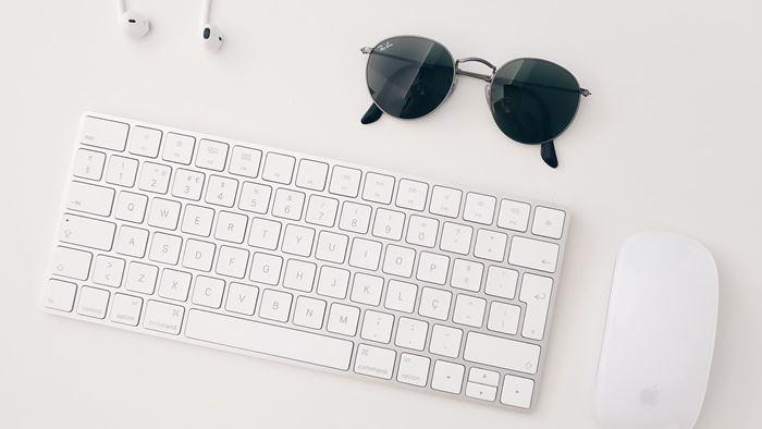 Bluetooth接続しているキーボード