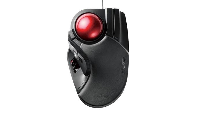 エレコムM-HT1URXBKトラックボールマウス