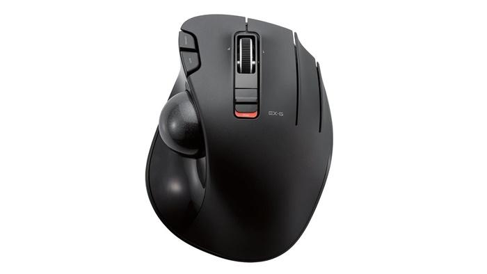 エレコムM-XT3DRBKトラックボールマウス
