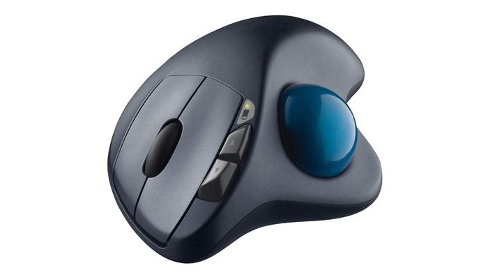 ロジクールM570tトラックボールマウス