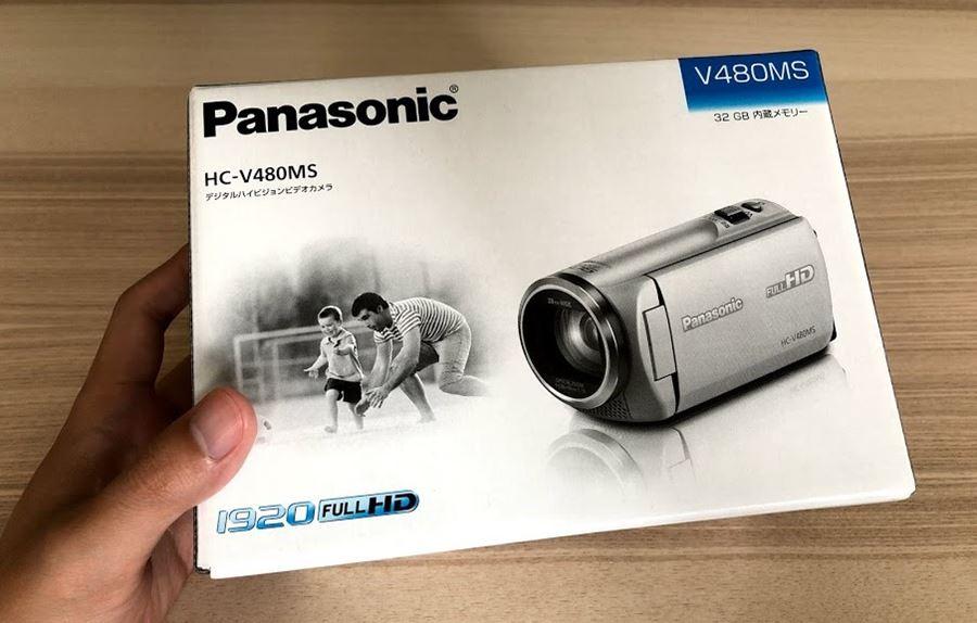 パナソニック HC-V480MS パッケージ