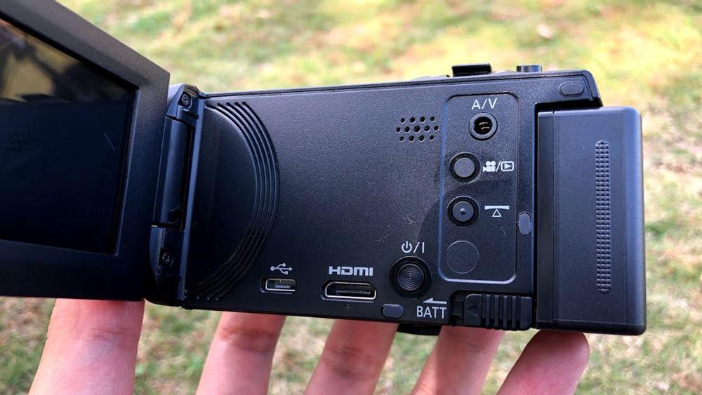 パナソニック HC-V480MSの外観