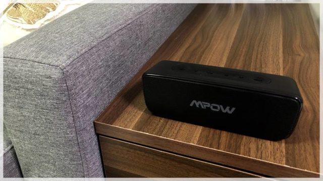 【Mpow Soundhot R6 レビュー】使い勝手とコスパ最高のワイヤレススピーカー