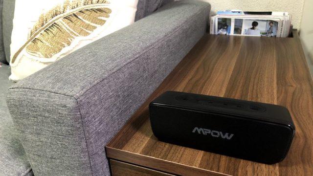 【Mpow Soundhot R6 レビュー】使い勝手の良いコスパ最高ワイヤレススピーカー