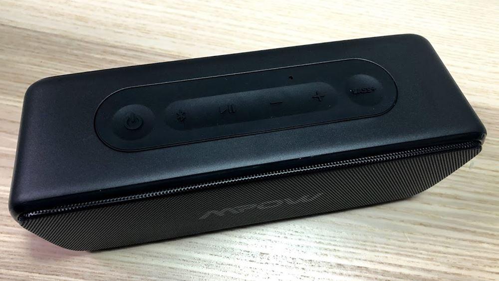 Mpow Soundhot R6の音楽の再生指示と音量調整
