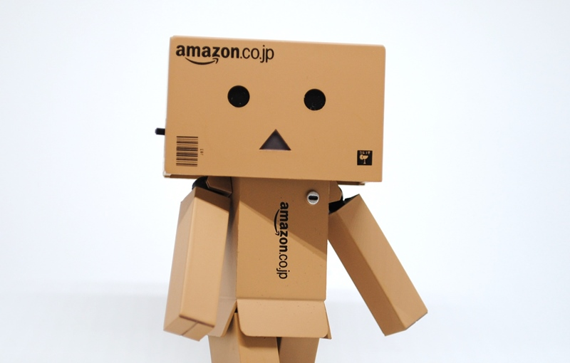 Amazonの段ボールの画像