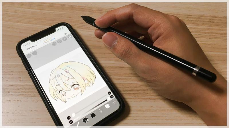 iPhoneでイラスト描く用のスタイラスペン買ってみた使用感レビュー