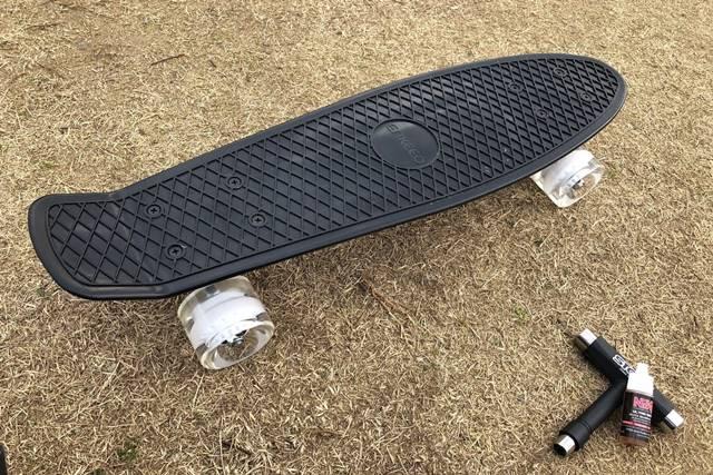 ENKEEO スケートボードのセッティング完了