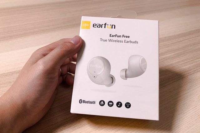 EarFun Freeのパッケージ画像