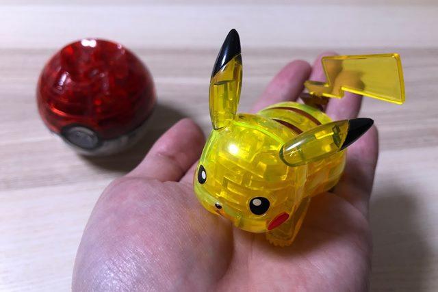 ジグソーパズル3D ピカチュウ&モンスターボールのピカチュウ