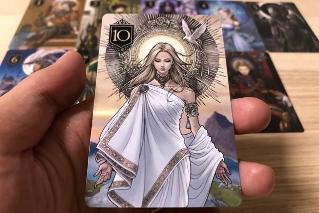 XENO(ゼノ)というカードゲームの英雄カード