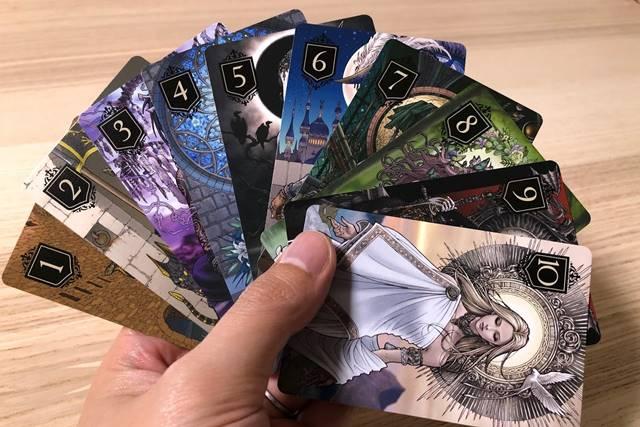 XENO(ゼノ)で使用する10種類のゲームカード