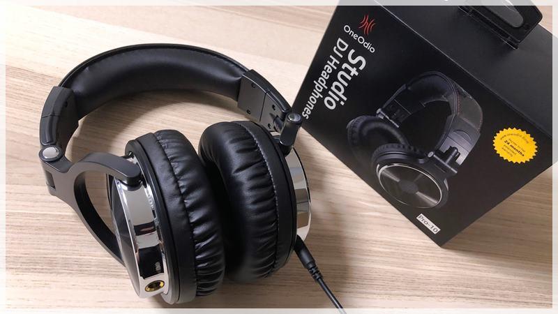 【OneOdio Pro10 ヘッドホン レビュー】迫力の重低音で長時間の動画やゲーム向け