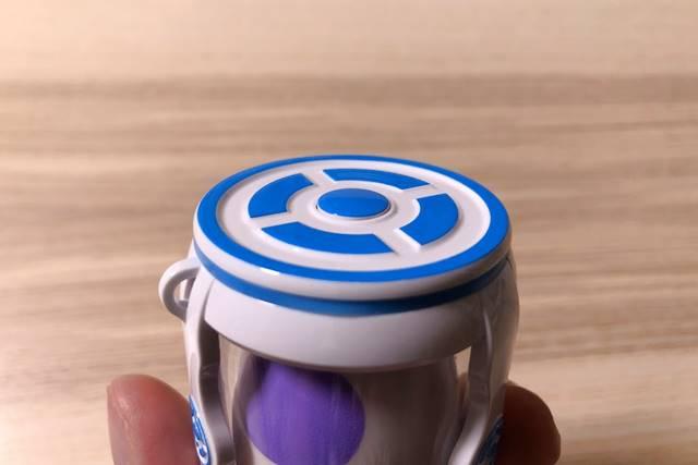 キャッチモンGOの上のボタンを拡大した様子