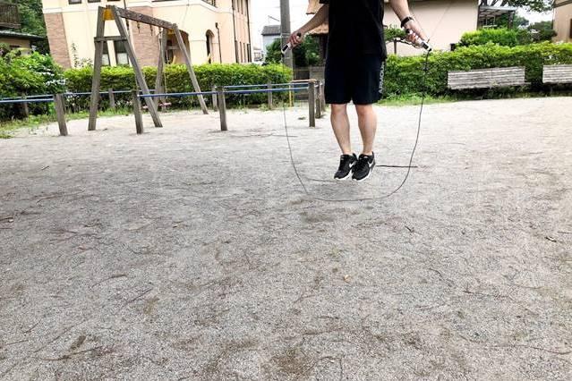 multifunのトレーニング縄跳び