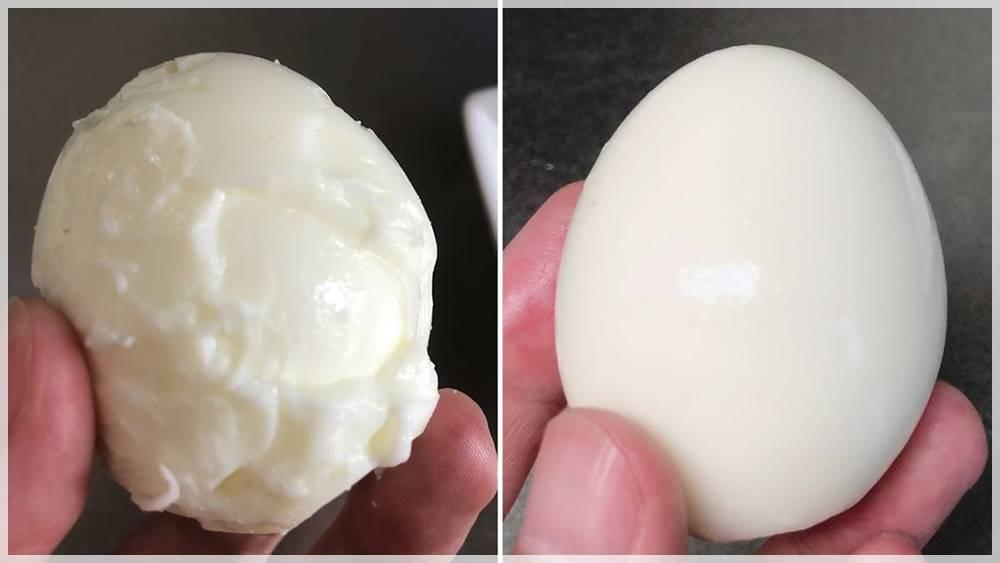 ゆで卵の殻をキレイにむくための調理のコツは2つだけだった!