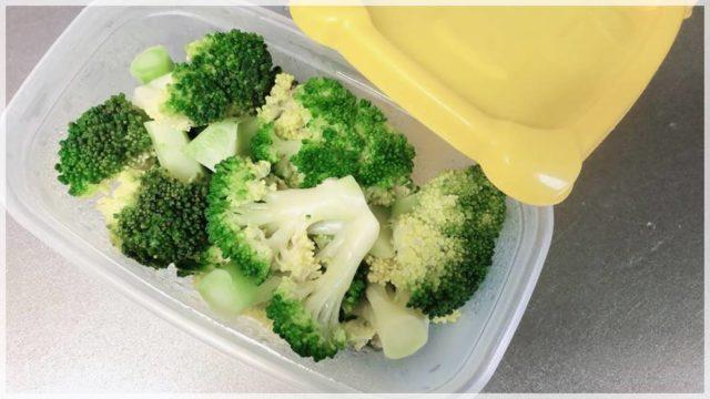 栄養満点のブロッコリーは電子レンジで3分の簡単調理でOKだ!