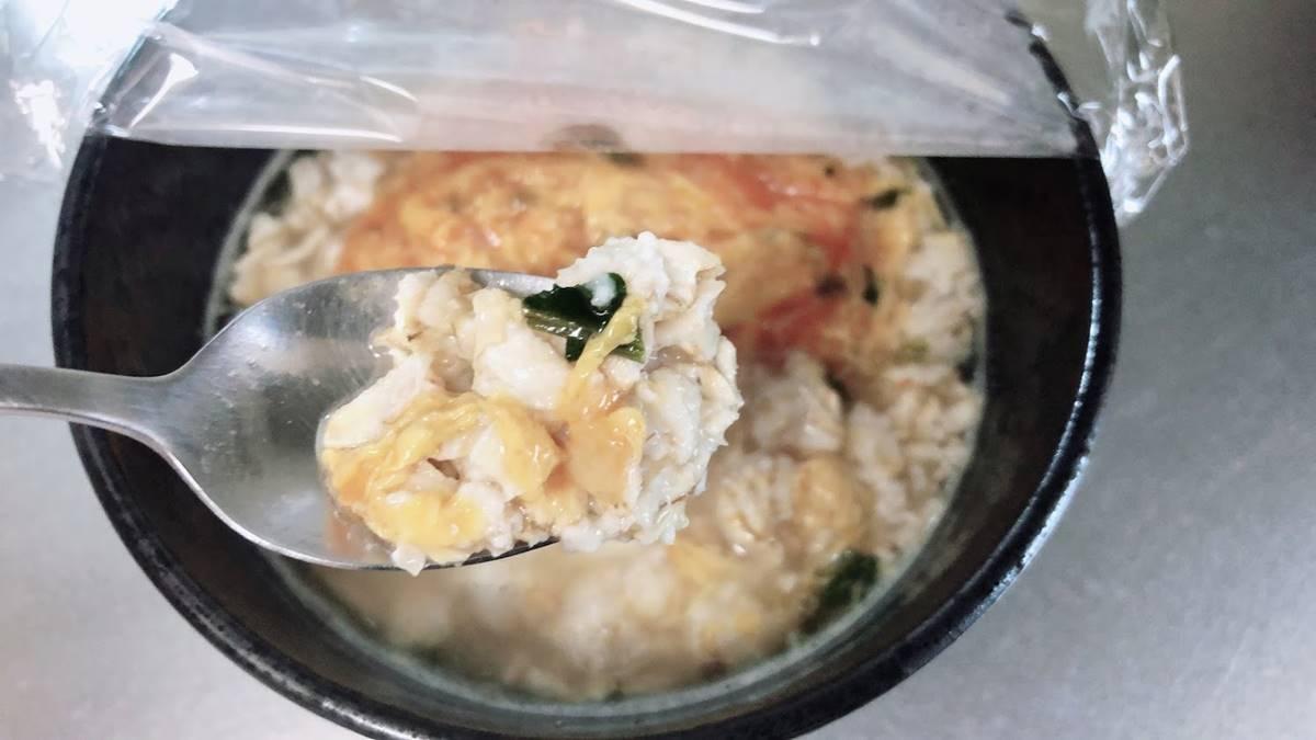 オートミールで海鮮チゲスープ