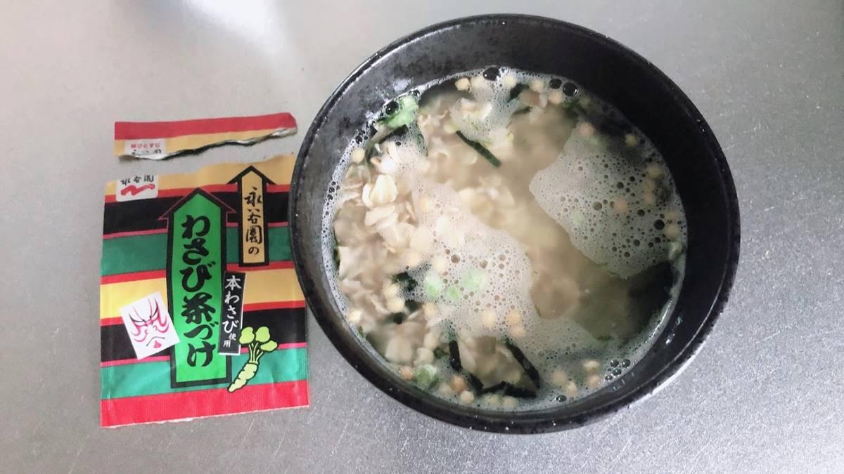 オートミールでお茶漬け!レンチンや熱湯かけるだけの簡単レシピや作り方