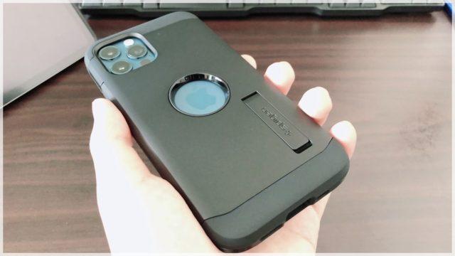 【Spigen タフアーマー レビュー】iPhone12Proが凄まじい防御力になった