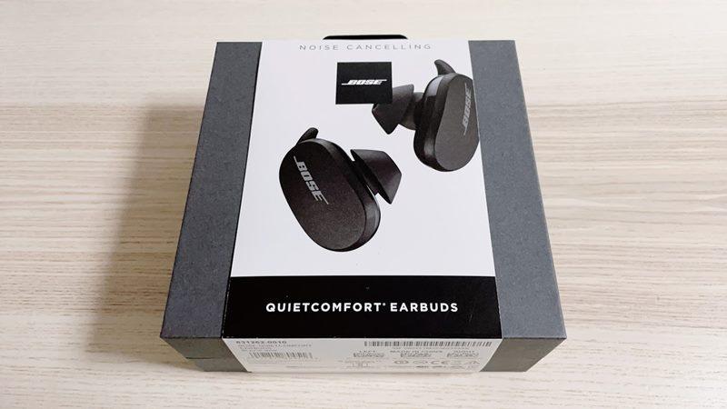 Bose QuietComfort Earbudsのパッケージ