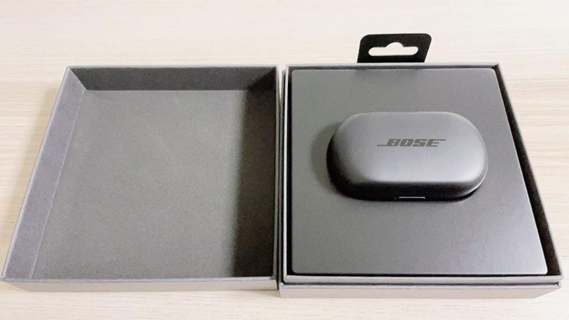Bose QuietComfort Earbudsの内箱