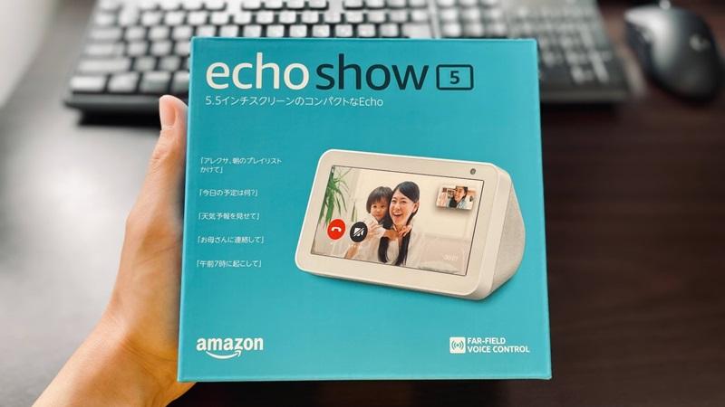 Amazon Echo Show 5のパッケージ