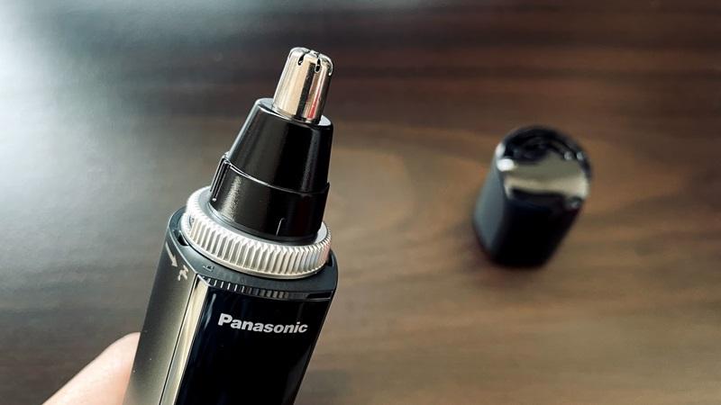 パナソニック 鼻毛カッター ER-GN70の刃の部分の拡大画像