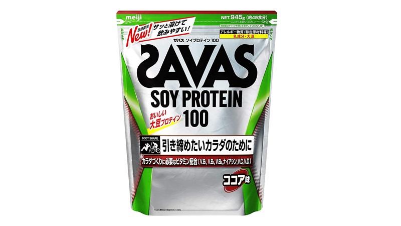 SAVAS ソイプロテイン100