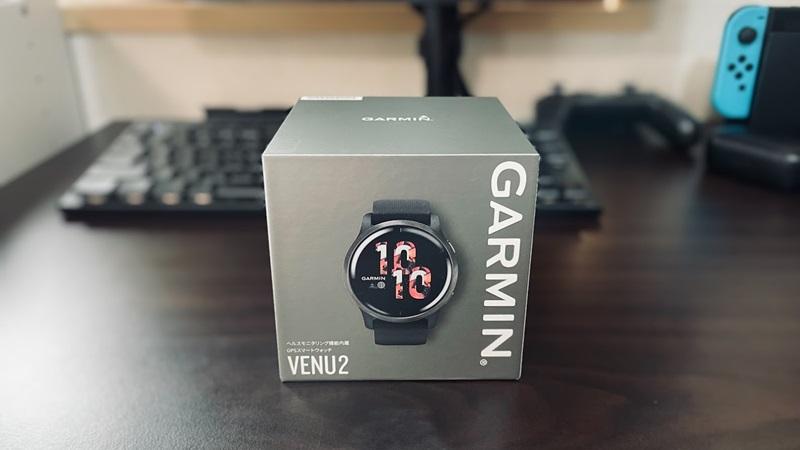 Garmin VENU 2のパッケージ