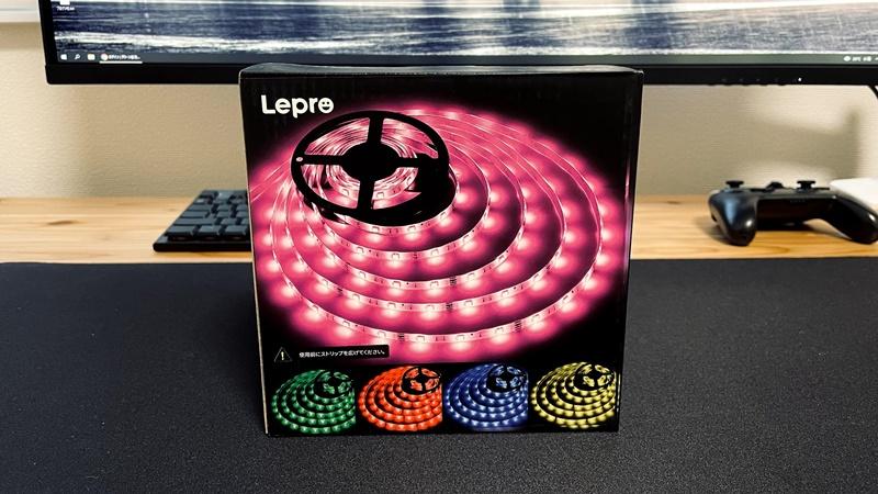 Lepro LEDテープライトのパッケージの画像