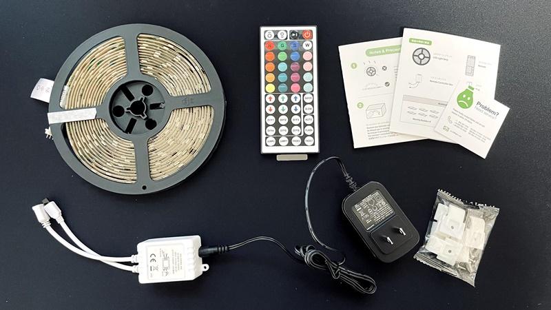 Lepro LEDテープライトの付属品一覧